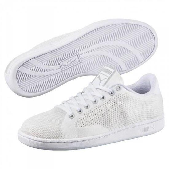 PUMA MATCH - 74 EVOKNIT Blanc Blanc - MATCH Achat / Vente basket 0ddcc3