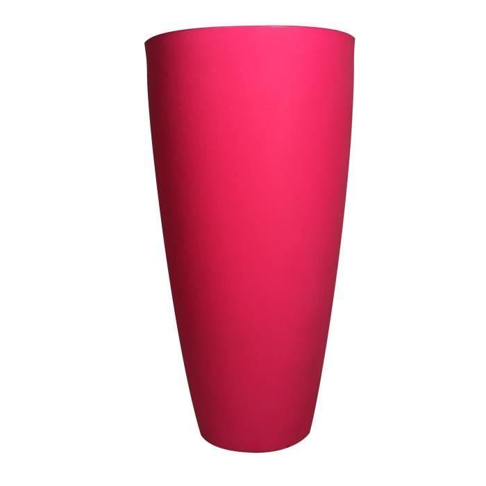 Pot de fleurs conique Delight - 200 L - Rose