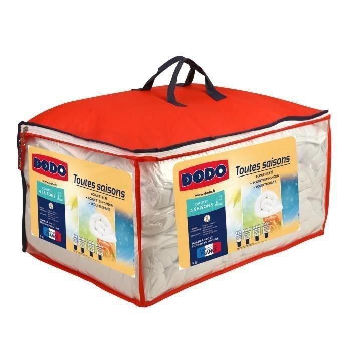 DODO Couette 4 SAISONS 200+300g/m² 240x260cm