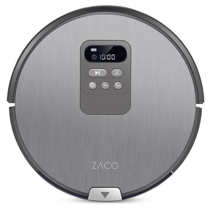 ZACO 501734 Robot Aspirateur Laveur V80 - Autonomie 130min - Réservoir 750ml - Puissance 22W