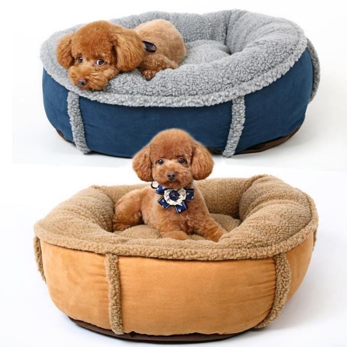 coussin panier sac de couchage de chien confortable doux chaud amovible lavable lit pour chien. Black Bedroom Furniture Sets. Home Design Ideas