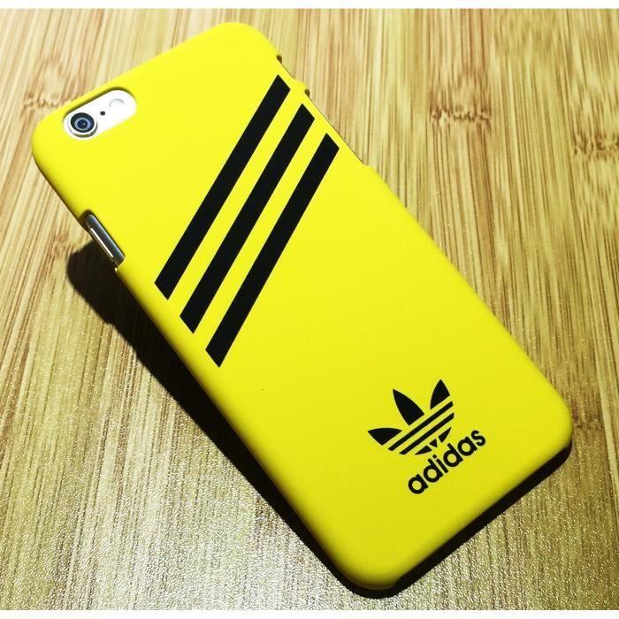 coque apple iphone 8 jaune