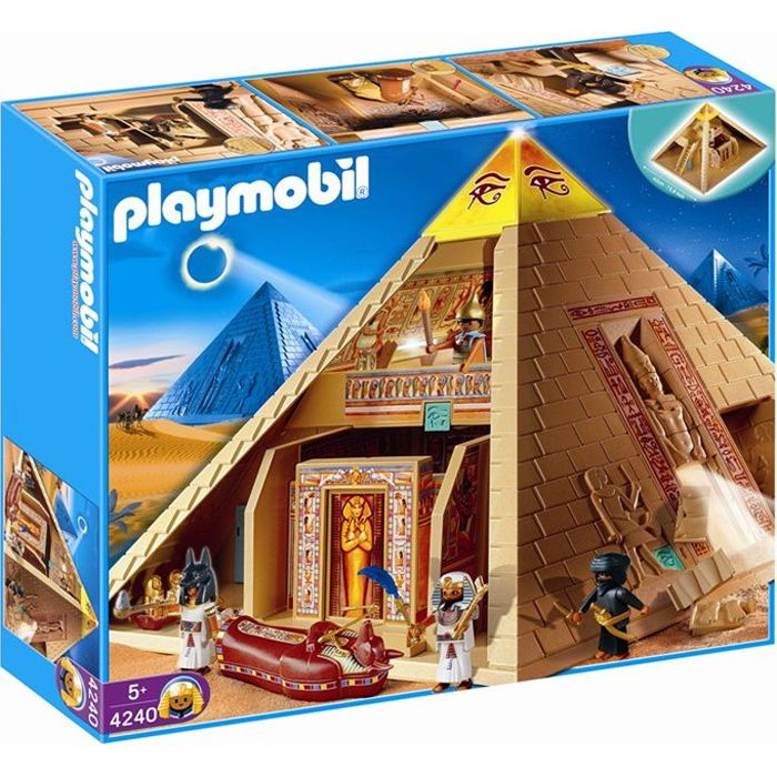 Playmobil pyramide gyptienne achat vente univers - Egypte playmobil ...