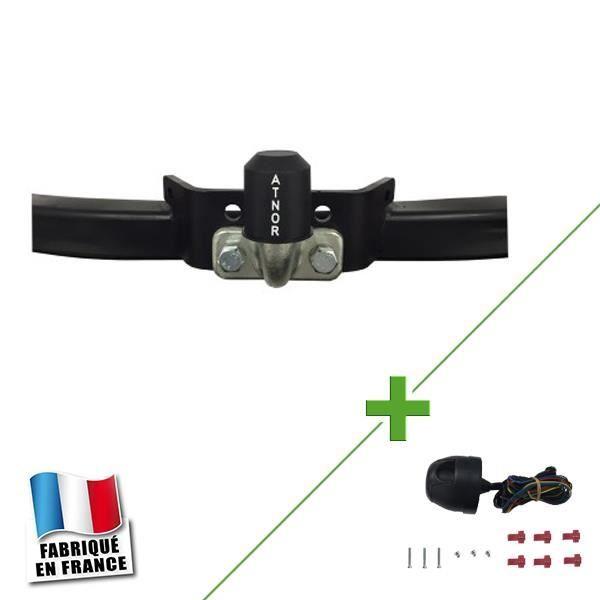 Attelage WABB avec outils + faisceau 7 broches standard pour Renault Clio  I  5 portes Pack attelage RDAO-faisceau standard 7