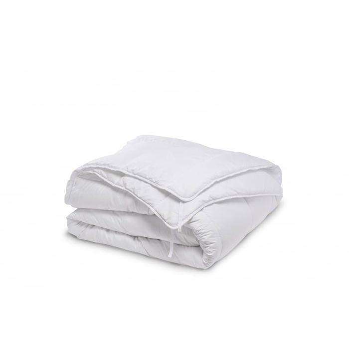 Bleu Calin Couette Microfibre 4 Saisons 240x260cm Achat Vente