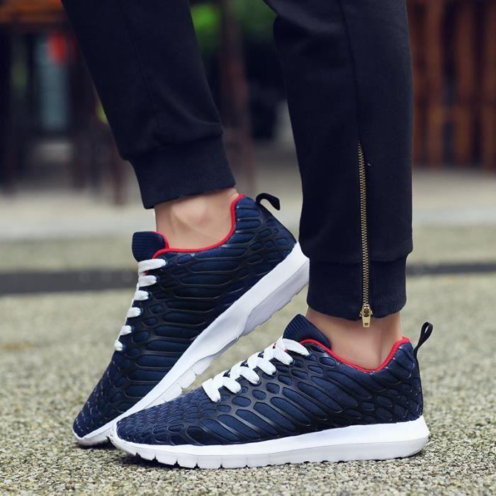 Homme Femme Baskets Chaussures de sport Respirante Running chaussure VAEn5hjay