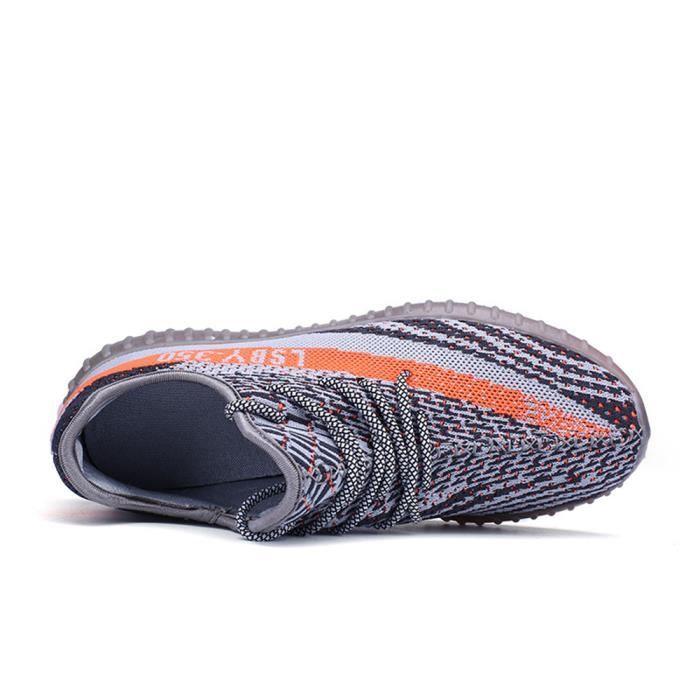 Basket Hommes 2017 Nouvelle Mode Marque De Luxe Chaussure Durable Baskets Léger Confortable Amoureux Grande Taille 39-44