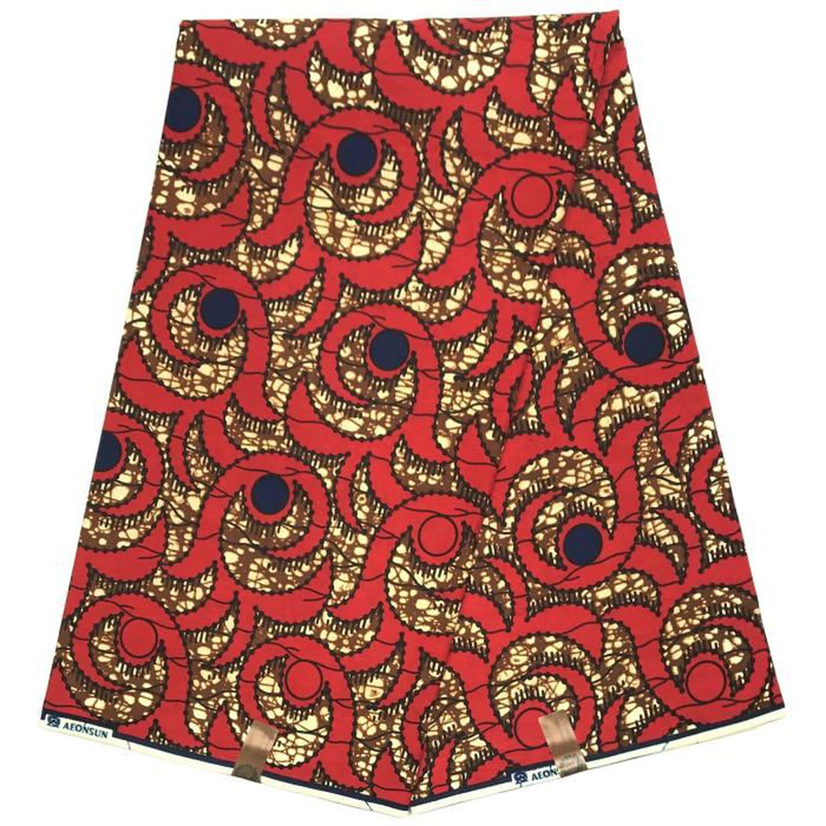 Wax Pagne Tissu Africain collection HITARGET 6 Yards ciré imprimé pur COTON - Achat / Vente ...