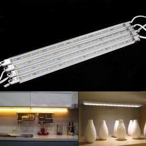 ECLAIRAGE DE MEUBLE Lot de 4 Lampes sous meuble LED Pour Montage Sous