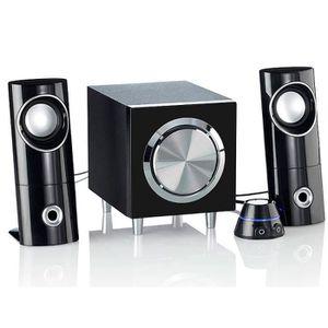 ENCEINTES ORDINATEUR Système audio actif 2.1 multimédia Audionov
