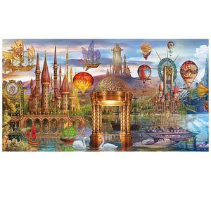 PUZZLE Puzzle 1000 pièces panoramique : Monde fantastique