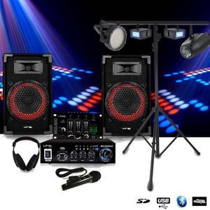 PACK SONO Pack SONO Complet DJ-PLAYER NIGHT + 2 STROBES + LE