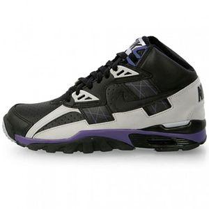 huge discount f4b14 a57e3 Nike Air Trainer SC High Black/Grey/Grape Noir - Achat / Vente ...