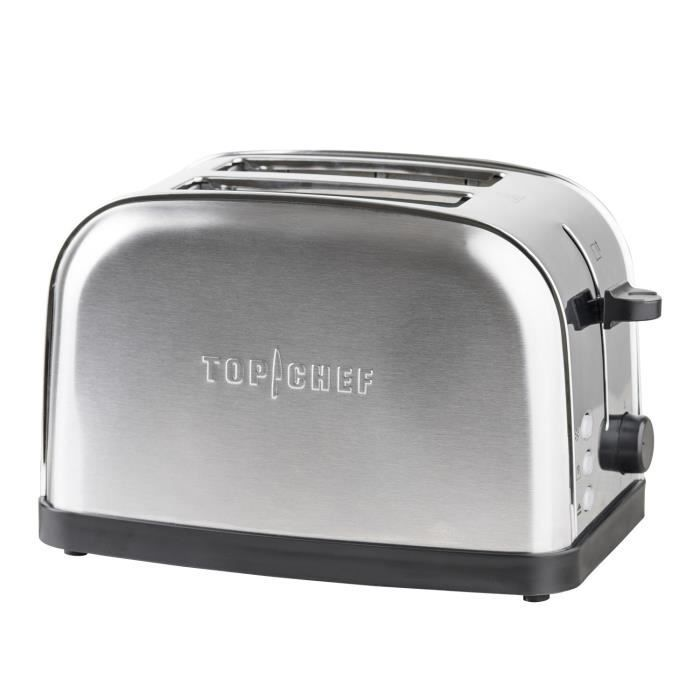 TOP CHEF TOPC 534 Grille-pain – Inox