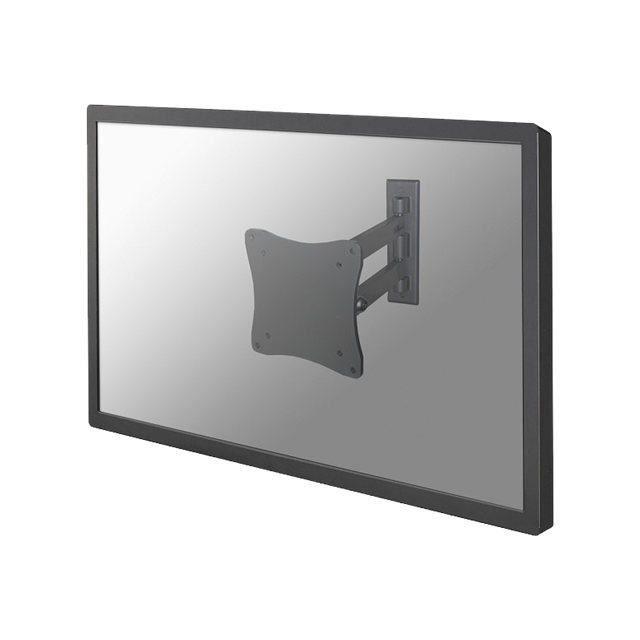 NEWSTAR Montage mural pour Écran LCD FPMA-W820 - Inclinaison et rotation - Argent - Écran : 10\