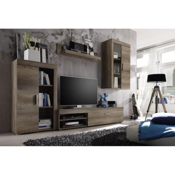 meuble tv meuble tv living 4 lments - Meuble Tv Living