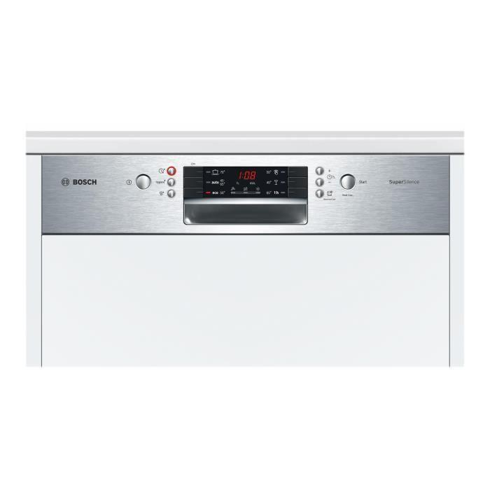 acheter en ligne 3a2c8 60390 Bosch Serie   4 SuperSilence SMI46IS15E Lave-vaisselle intégrable largeur :  59.8 cm profondeur : 57.3 cm hauteur : 81.5 cm acier…