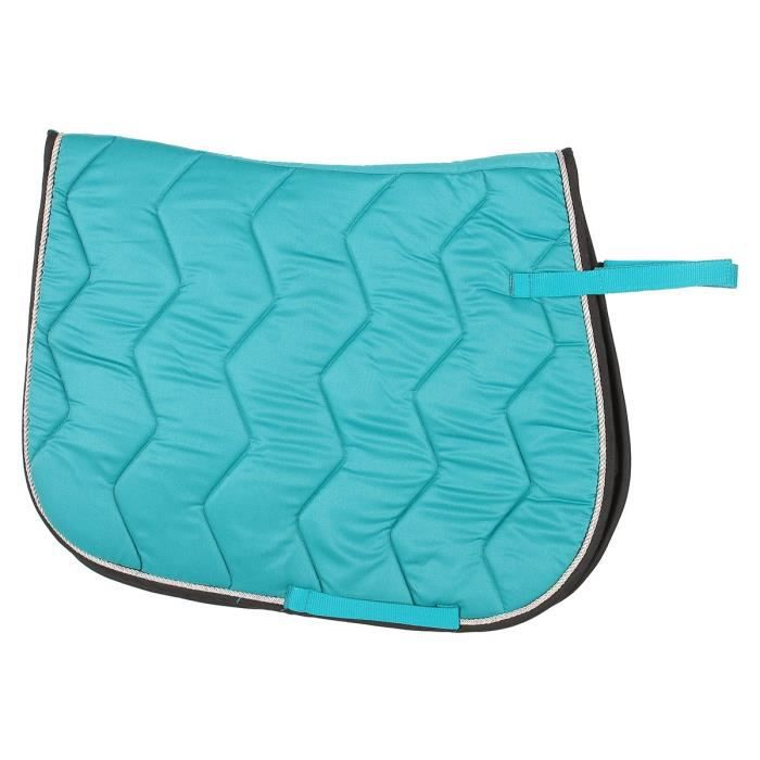 Equi Theme Chabraque Rope Pour Cheval Turquoise Argent Achat