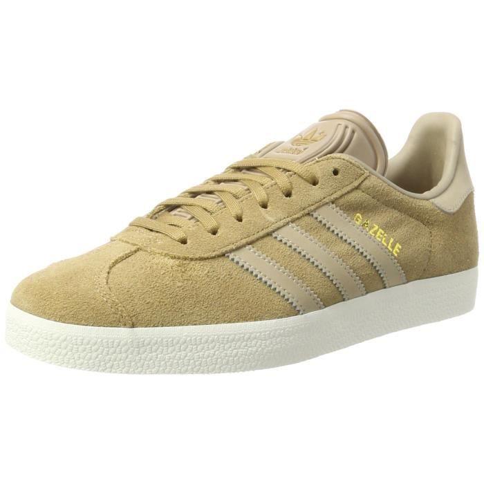 adidas gazelle beige homme
