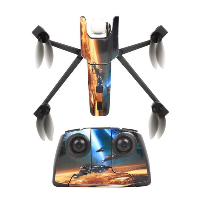 f3b979b9e232f9 Interstellar Explore Waterproof PVC Decal Skin Sticker For Parrot Anafi  Drone body protection film +remote Controllers cover