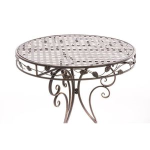 table ronde fer forge - achat / vente table ronde fer forge pas