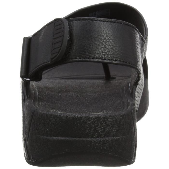 En Ouvert 3ofk87 Hommes Sling Taille Orteils 46 Perf Cuir Sandales IcRcFqS5