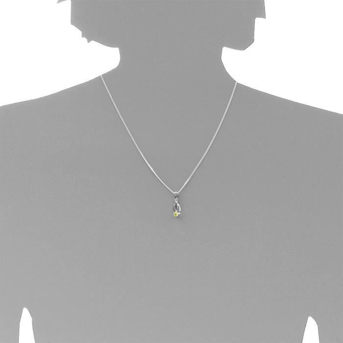 2420200002401 - Pendentif Femme - Argent 925-1000 - Oxyde De Zirconium Z8P0R