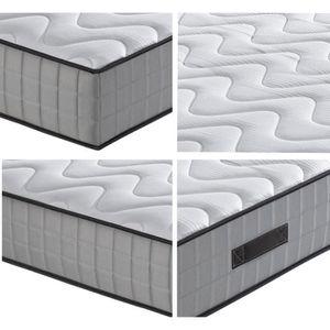 matelas 160x200 ressorts ensaches 7 zones achat vente matelas 160x200 res. Black Bedroom Furniture Sets. Home Design Ideas