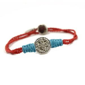 BRACELET - GOURMETTE La part des femmes Your Love Red Bracelet Kabbale 011ffae4e334