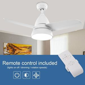 VENTILATEUR DE PLAFOND COCO Ventilateur de plafond à 3 lames, 36