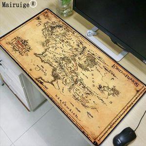 TAPIS DE SOURIS Version 400X800X3MM - Seigneur Des Anneaux Carte D