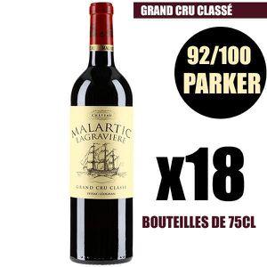 VIN ROUGE X18 Château Malartic-Lagravière 2014 75 cl AOC Pes