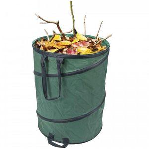 SAC À DÉCHETS VERTS  Container de jardin pliable 160 litres.Sac en poly