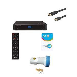 RÉCEPTEUR - DÉCODEUR   ASTON Récepteur TV satellite HD Connect + Carte Vi