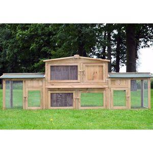 CAGE Cage Clapier Enclos Abris pour petits animaux gran