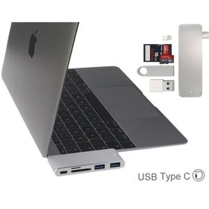 AUTRE PERIPHERIQUE USB  Hub Broonel USB 3.0 type C - Hub 3 ports USB 3.0 C