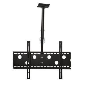 FIXATION - SUPPORT TV fixation plafond rétractable inclinaison 20° pour