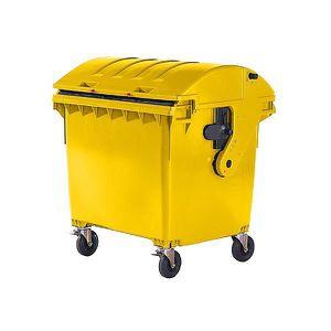 POUBELLE - CORBEILLE Conteneur à déchets 4 roues en plastique conforme
