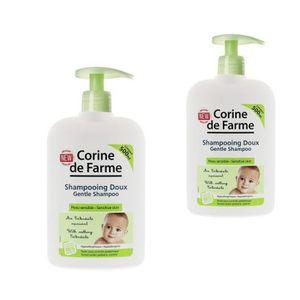 SAVON - SHAMPOING BÉBÉ Lot de 2 Shampooing Doux pour Bébé 500 ml