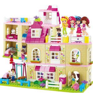 ASSEMBLAGE CONSTRUCTION jouets éducatifs pour enfants fille assemblée mond