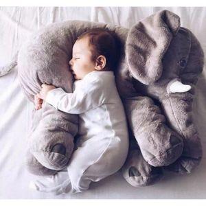 l phant doux apaiser b b oreiller b b calme poup e b b jouets b b sommeil lit coussin 60cm. Black Bedroom Furniture Sets. Home Design Ideas