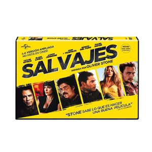 DVD FILM Savages (SALVAJES (ED. HORIZONTAL), Importé d'Espa