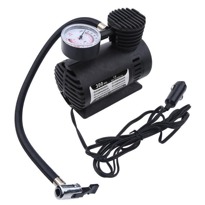 pression de pneu pr/ér/égl/ée Dr.Auto Pompe automatique de compresseur dair de gonfleur de pneu de voiture de larr/êt 12v 150PSI bec dair de 3 pour la boule//v/élo//lit pneumatique//moto