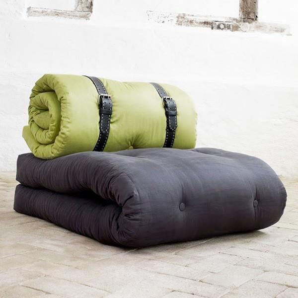 fauteuil lit m ridienne futon d appoint achat. Black Bedroom Furniture Sets. Home Design Ideas