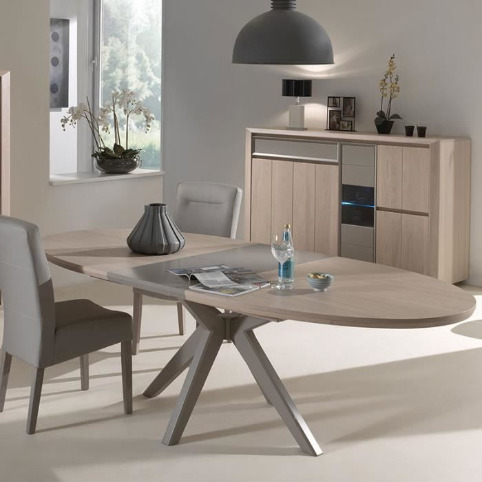 Meuble salle a manger taupe - Achat / Vente pas cher