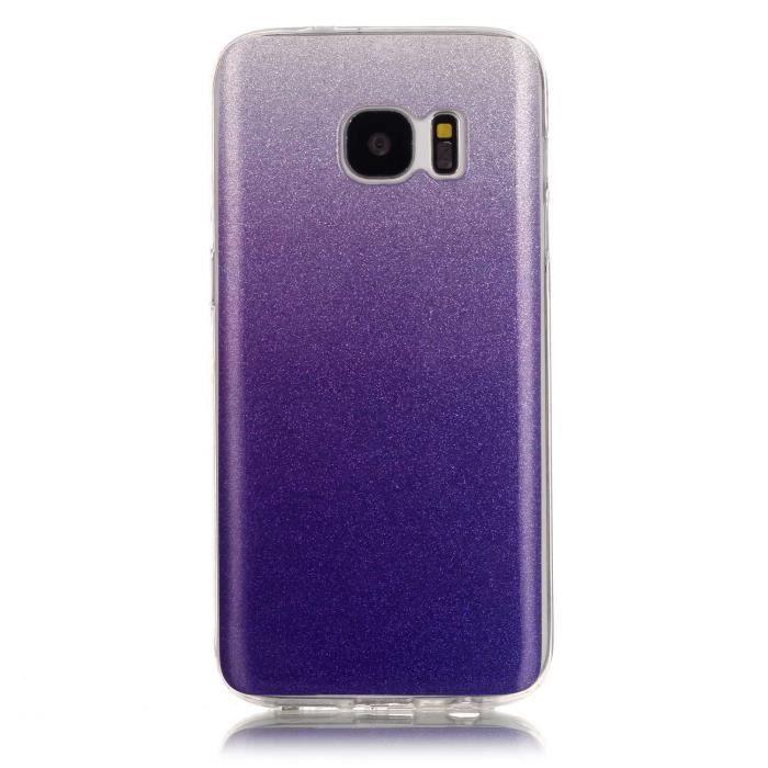 ... Téléphone Portable Cas Protecteur Housse TPU 5.1 Inches Violet Flash.  HOUSSE - ÉTUI Durable Durable Coque clapet galaxy s7 s7 Samsung b440932035da