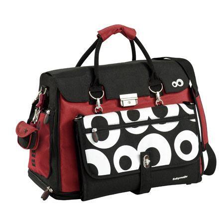 babymoov sac a langer free hand rouge noir noir achat vente sac langer 3661276005242. Black Bedroom Furniture Sets. Home Design Ideas