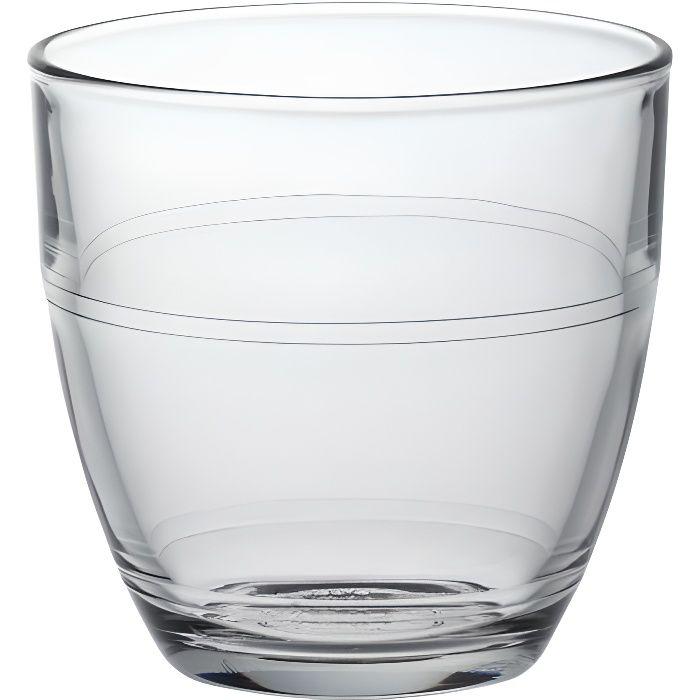 duralex lot de 6 verres gobelets gigogne 16 cl achat vente verre eau soda cdiscount. Black Bedroom Furniture Sets. Home Design Ideas