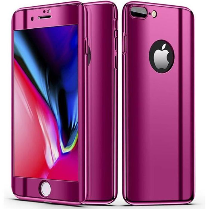 coque iphone 8 plus fushia