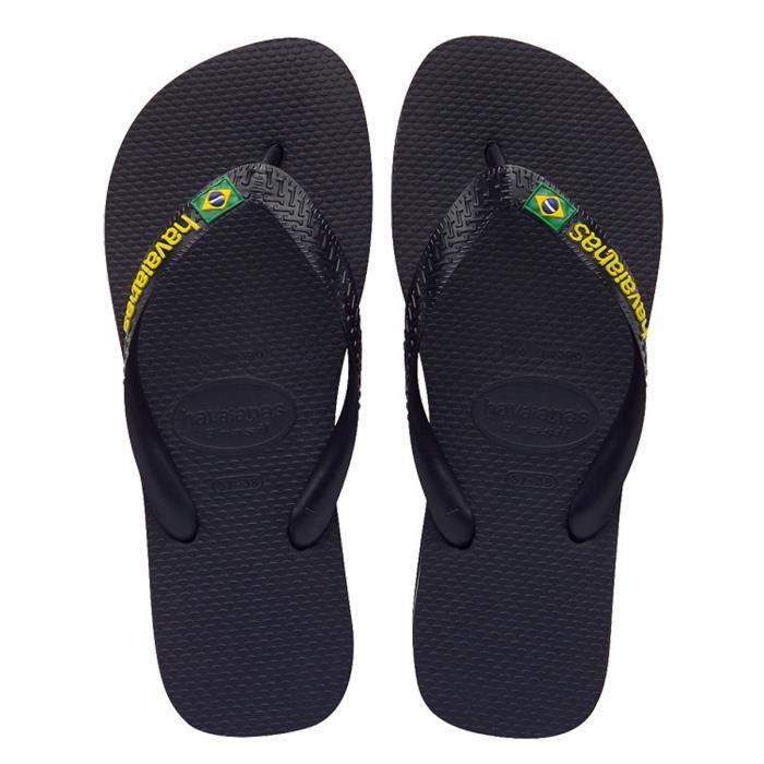 Havaianas Tongs Brasil Logo Noir bRUVC